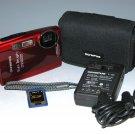 Olympus Stylus Tough 3000 12.0MP Digital Camera - Red #1548