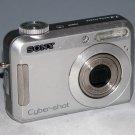 Sony Cyber-shot DSC-S650 7.2MP Digital Camera - Silver #6501
