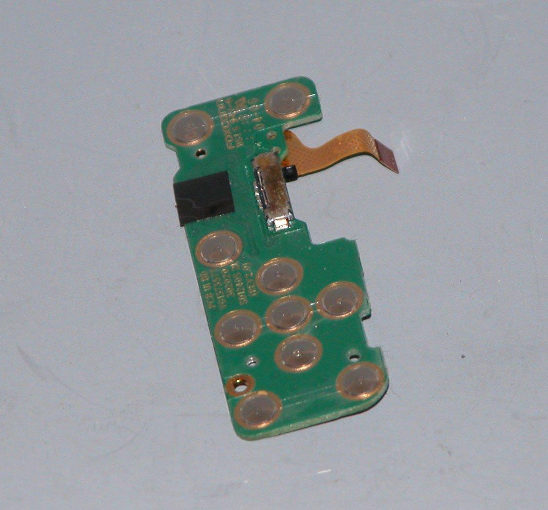 Sony Cyber-shot DSC-W510 Rear Control Board - Repair Parts