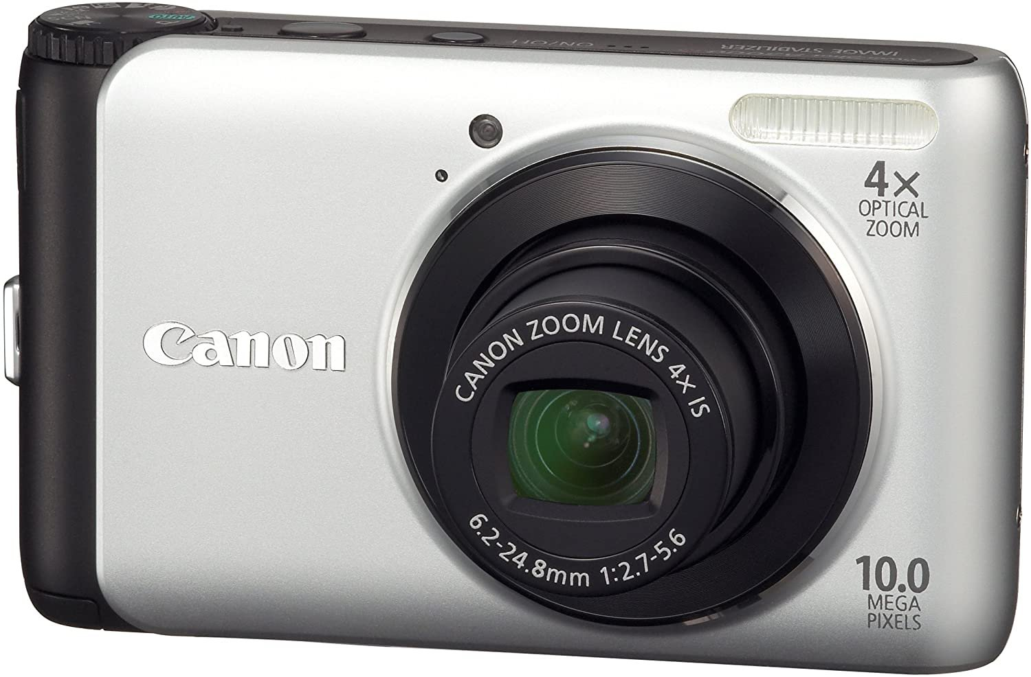 Canon PowerShot A3000 IS 10.0MP Digital Camera - Silver #0141
