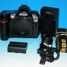Nikon D70 6.1 MP Digital SLR Camera Body Only #2728 (Shutter Count 10482)