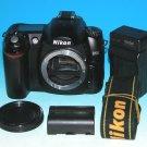 Nikon D50 6.1 MP Digital SLR Camera(Body Only) #9989  **Shutter Clicks 4138**