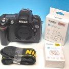 Canon EOS 10D 6.3MP Digital SLR Camera - Black (Body Only) #6649