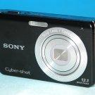 Sony Cyber-shot DSC-W190 12.1MP Digital Camera - Black #4889
