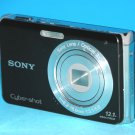 Sony Cyber-shot DSC-W190 12.1MP Digital Camera - Black #5184