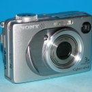 Sony Cyber-shot DSC-W1 5.1MP Digital Camera - Silver #8377