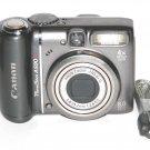 Canon PowerShot A590 IS 8.0MP Digital Camera #2054
