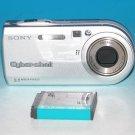 Sony Cyber-shot DSC-P100 5.1MP Digital Camera - Silver #2001