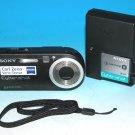 Sony Cyber-shot DSC-P120 5.1MP Digital Camera - Black #1773