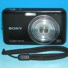 Sony Cyber-shot DSC-W310 12.1MP Digital Camera - Black  #0347