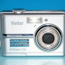 Vivitar ViviCam 5386 5.0MP Digital Camera - Silver #00BT