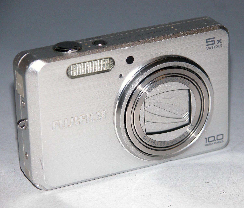 Fujifilm FinePix J150 10.0MP Digital Camera - Silver #3200