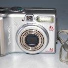 Canon PowerShot A530 5.0MP Digital Camera - Silver #6960