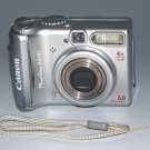 Canon PowerShot A540 6.0MP Digital Camera - Silver #7546