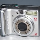 Canon PowerShot A540 6.0MP Digital Camera - Silver #5205
