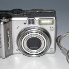 Canon PowerShot A570 IS 7.1MP Digital Camera - Silver #7801