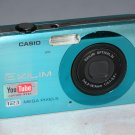 Casio EXILIM ZOOM EX-Z90 12.1MP Digital Camera - Blue #4850