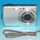 Casio EXILIM ZOOM EX-Z600 6.0MP Digital Camera - Silver #7817