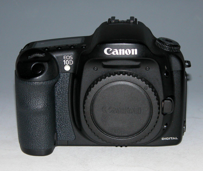 Canon EOS 10D 6.3MP Digital SLR Camera - Black (Body Only) #0168