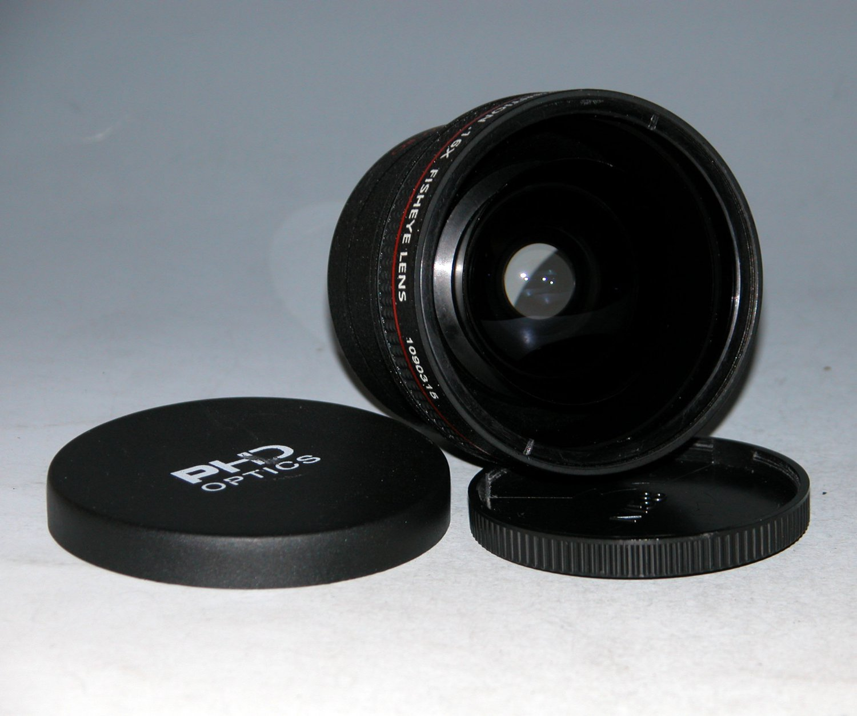PHD OPTICS PRO 58mm High Definition .16X FISHEYE LENS
