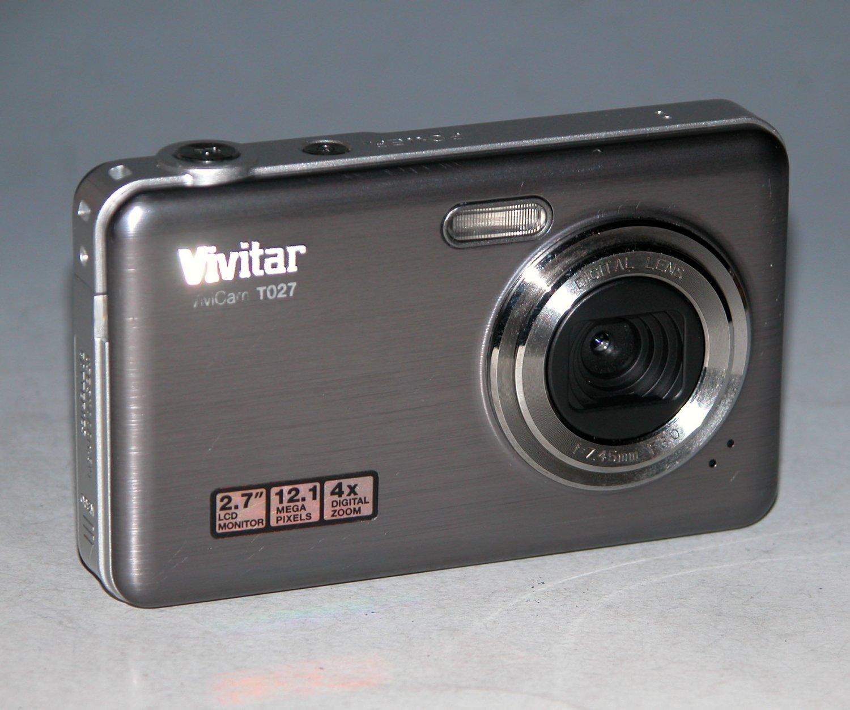 Vivitar ViviCam 5386 5.0MP Digital Camera - Silver #00N7