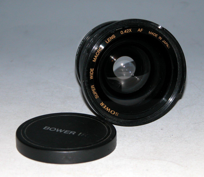 Bower Super Wide Macro Lens 0.42x AF, 52mm Ser VII