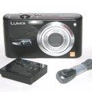 Panasonic DMC-FX3 6MP Digital Camera - Black #ns