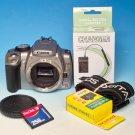 Canon EOS Digital Rebel XT / EOS 350D 8.0MP Digital SLR Camera (Body Only) #0118