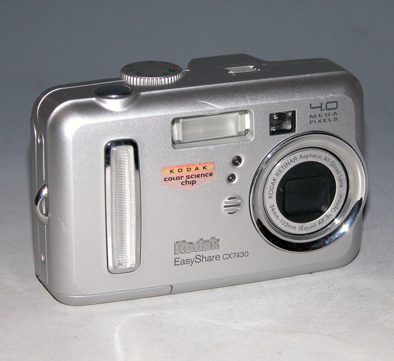 Kodak EasyShare CX7430 4.0MP Digital Camera # 6818