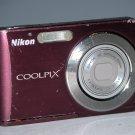 Nikon COOLPIX S210 8.0MP Digital Camera - Plum #7568
