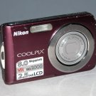 Nikon COOLPIX S210 8.0MP Digital Camera - Plum #6575