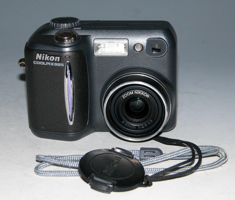 Nikon COOLPIX 885 3.2MP Digital Camera - Black #4419