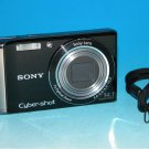 Sony Cyber-shot DSC-W370 14.1MP Digital Camera - Black  #3435