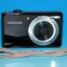 Samsung PL100 12.2MP Digital Camera - Black