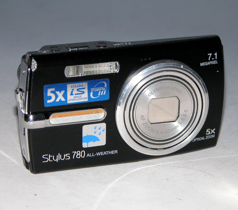 Olympus Stylus 780 7.1MP Digital Camera - Black #2654