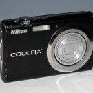 Nikon COOLPIX S230 10MP Digital Camera - Black #6472