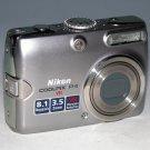 Nikon COOLPIX P4 8.1MP Digital Camera  #0542