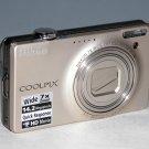 Nikon Coolpix S6000 14.2 MP Digital Camera - Silver #8390