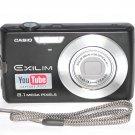 Casio Exilim Zoom EX-Z150 Digital Camera 8.1 MP - Black #6527
