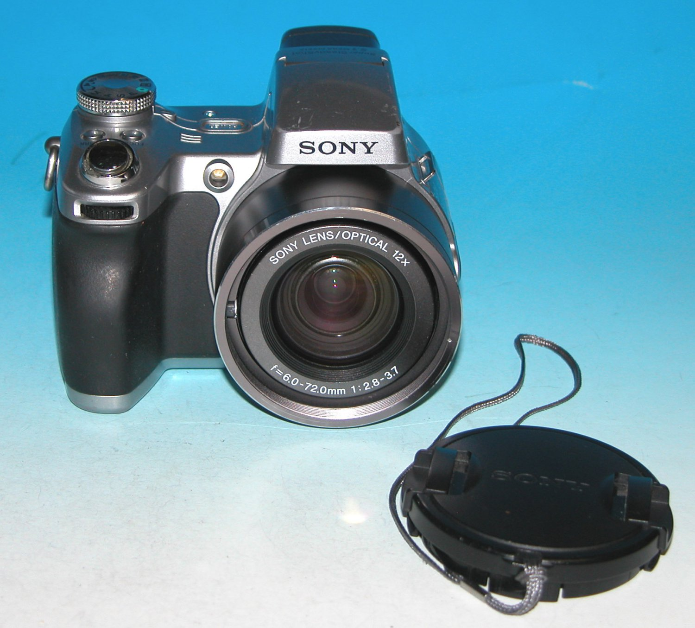 Sony Cyber-shot DSC-H1 5.0MP Digital Camera - Silver #5573