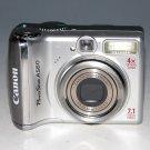 Canon PowerShot A560 7.1MP Digital Camera - Silver #2174