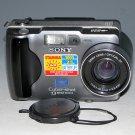 Sony Cyber-shot DSC-S30 1.3MP Digital Camera - Black #8529