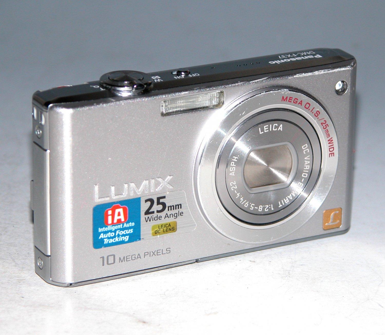 Panasonic LUMIX DMC-FX37 10M Digital Camera - Silver #1369