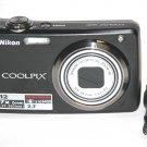 Nikon Coolpix S630 12MP Digital Camera - Black #4455