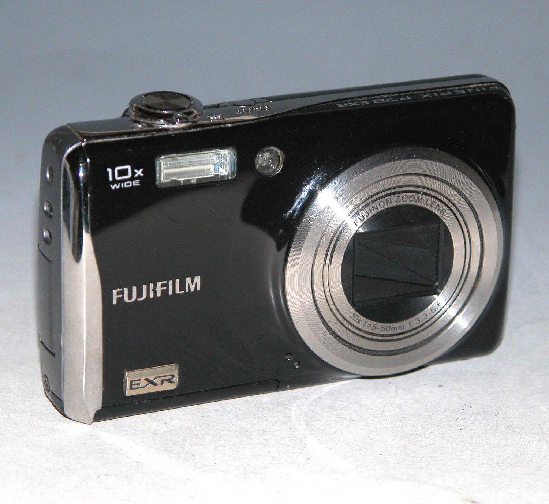 Fujifilm FinePix F72EXR 10MP Digital Camera - Black #1541