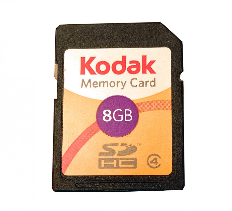 Kodak 8GB Secure Digital SDHC Class 4 Memory Card
