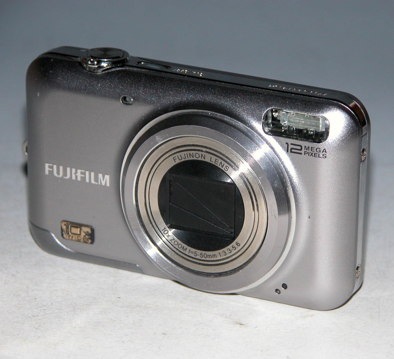 Fujifilm FinePix JZ300 12MP Digital Camera - Silver #0481