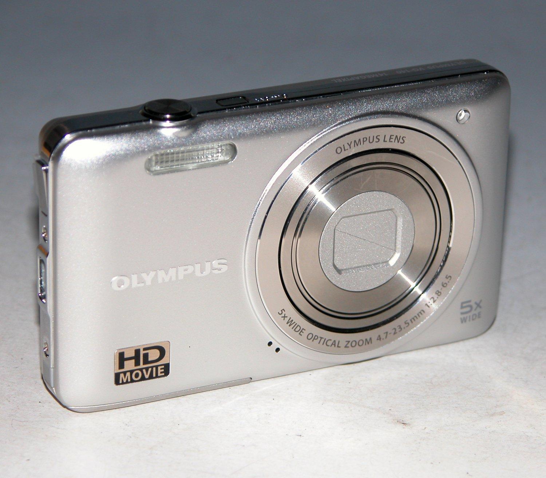 Olympus VG-140 14MP Digital Camera - Silver #7410
