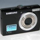 Samsung L100 8.1MP Digital Camera - Black #7689