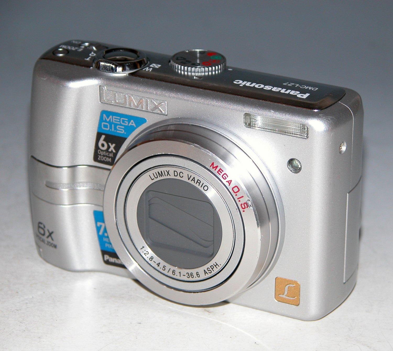 Panasonic LUMIX DMC-LZ7 7.2MP Digital Camera - Silver #4730